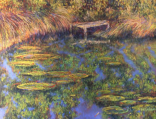 Peter Caddy Australian artist water series